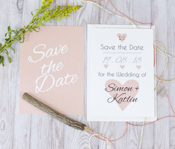 Heart + Arrow Save The Date