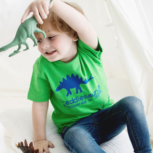 Personalised Dinosaur T Shirt - clothing