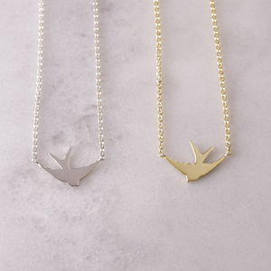 Swallow Necklace - necklaces & pendants