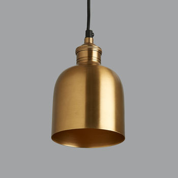 Florence Brass Pendant Light