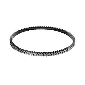 Sync Oxidised Bangle - bracelets & bangles