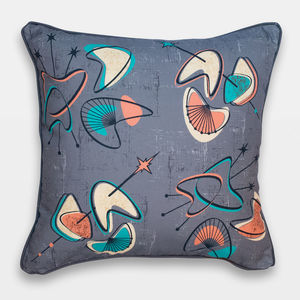 Midcentury Inspired Cushion 'Monterey' Design