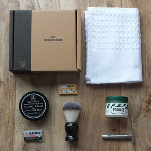 Traditional Wet Shaving Kit - men's grooming & toiletries