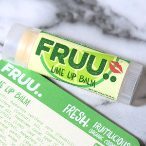 Organic And Vegan Lime Lip Balm