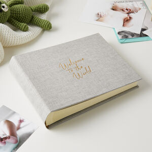 Welcome To The World Photo Album Small