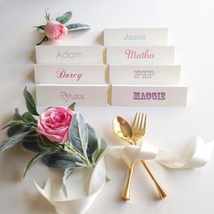 Personalised Name Place Card