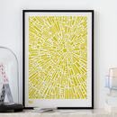 'Morning Light' Geometric Screen Print
