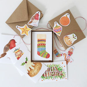 Christmas Card Box Set - cards