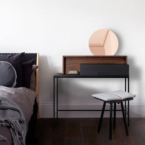 Rozel Industrial Dressing Table - bedroom