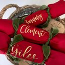 Personalised Traditional Fabric Christmas Crackers