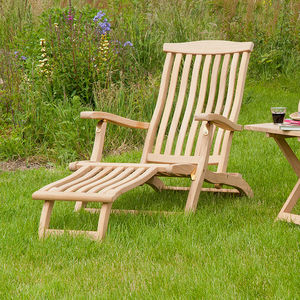 Roble Garden Lounger - garden furniture