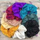 Luxury Large Silk Scrunchie Hair Ties