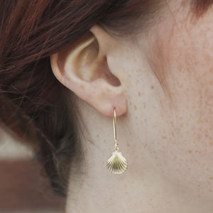 Shell Earrings - bridesmaid jewellery