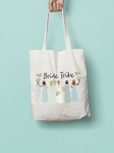 Bride Tribe Team Bridesmaid Maid Of Honour Tote Bag