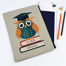 Personalised Owl Teacher Tablet Case