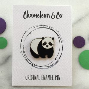 Panda Enamel Pin - children's accessories
