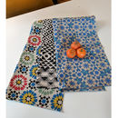 Snazzy Cotton Tea Towel Set Of Three
