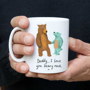 Daddy Bear And Me Father's Day Mug