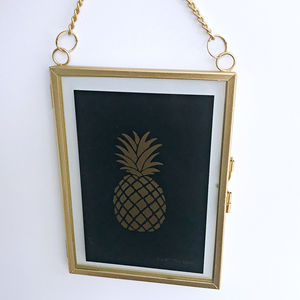 Hanging Gold Photo Frame - home accessories