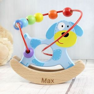 Two Personalised Wooden Toys