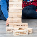 Personalised Giant Forfeit Stacking Tower
