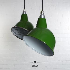 Oulton Industrial Factory Pendant Light - ceiling lights
