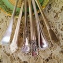 silverplated vintage spoon designs
