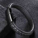Mens Handmade Leather Bracelet