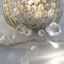 Clear Crystal Ball Fairy Lights Mains Or Battery