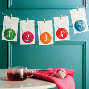 Advent Calendar Of Tea - view all decorations