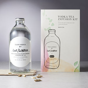 London Vodka And White Tea Infusion Kit - vodka