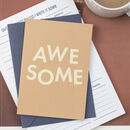 'Awesome' Funny Congratulations And Well Done Card