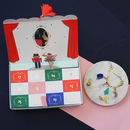 Nutcracker Advent Calendar Charm Bracelet