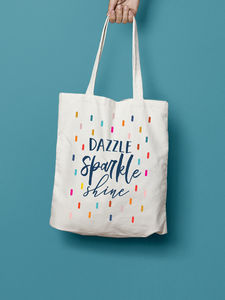 Dazzle Sparkle Shine Tote Bag