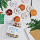 Personalised Couples Winter Date Ideas Jar