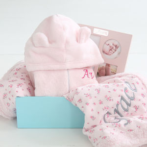 Snuggle Fleece Gift Set Pink - gift sets