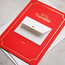 With Love Valentine Mini Envelope Card