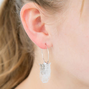 3D Owl Earrings