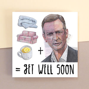 Jeremy Kyle Get Well Soon Card - get well soon cards