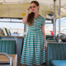 Louise Green Beach Hut Dress