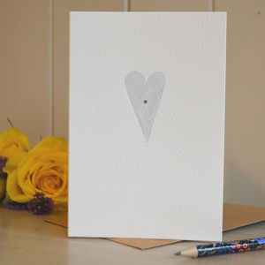 Personalised Hand Painted Sympathy Card