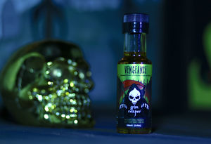 Vengeance Chilli Oil With Lemongrass And Ginger - halloween party food
