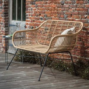 Outdoor Bamboo Bench - garden furniture