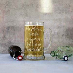 Teachers Personalised Giant Two Pint Tankard - glassware