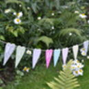 Personalised Wooden Heart Bunting