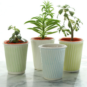 Succulent Pot Ceramic Planter - gifts for her