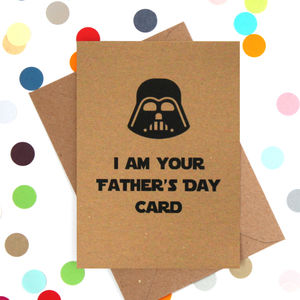 'Darth's Father's Day' Funny Father's Day Card - father's day cards
