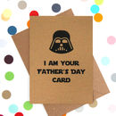 'Darth's Father's Day' Funny Father's Day Card