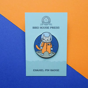 Space Cat Cat Pin Badge Astronaut Cat Enamel Pin Badge