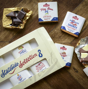 American Flavoured Chocolate Eight Bar Selection - chocolates & confectionery